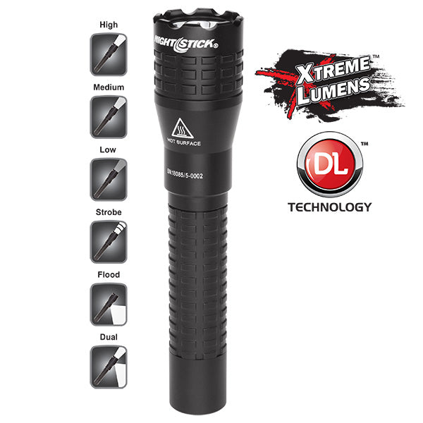 NIGHTSTICK NSR-9844XL Tactical Dual-Light™ Rechargeable Flashlight
