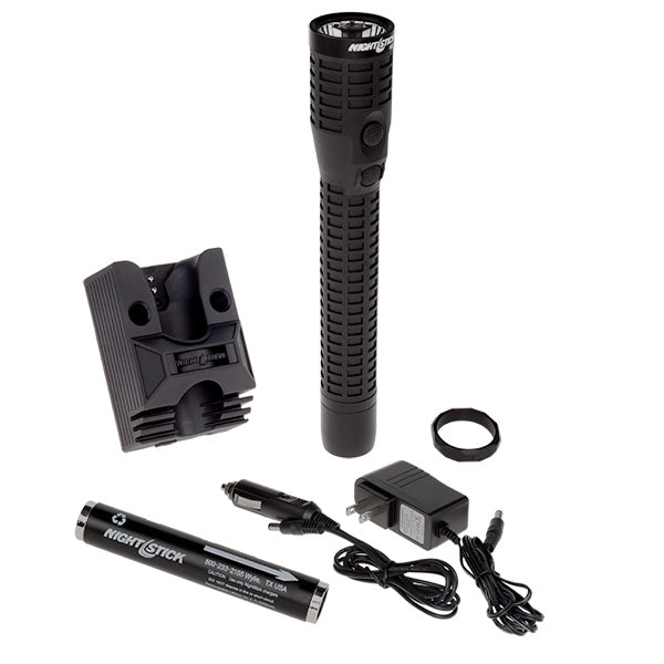 NIGHTSTICK NSR-9924XL Polymer Duty/Personal-Size Dual-Light™ Rechargeable Flashlight