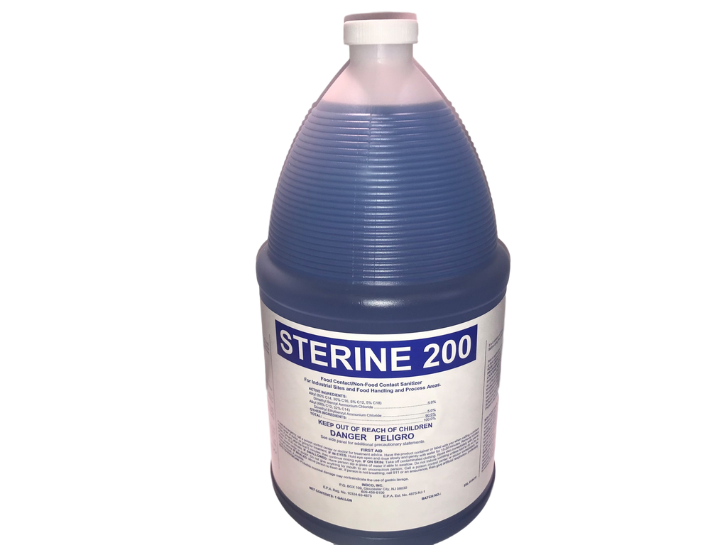 Sterine 200 Concentrate Disinfectant, 1 Gallon