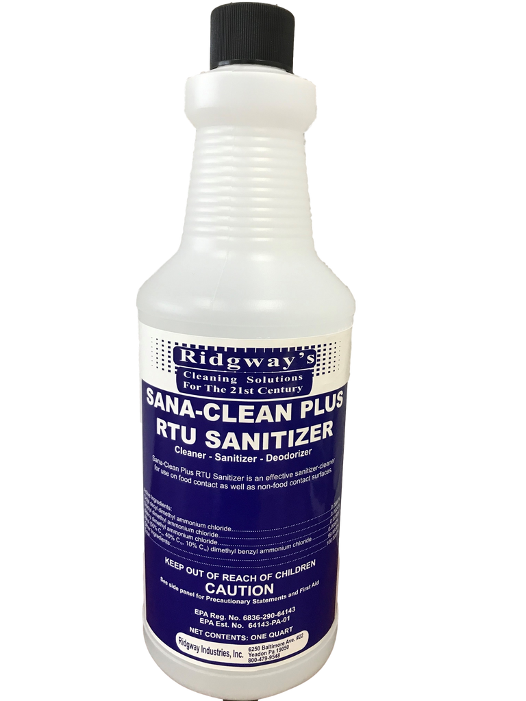 Sana-Clean Plus RTU Sanitizer