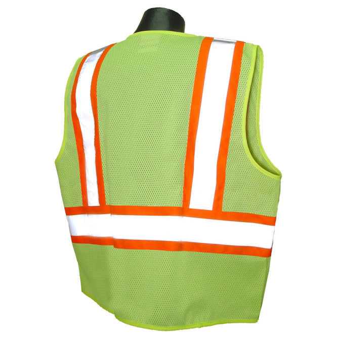 Radians SV22-2 Economy Type R Class 2 Safety Vest with Two-Tone Trim