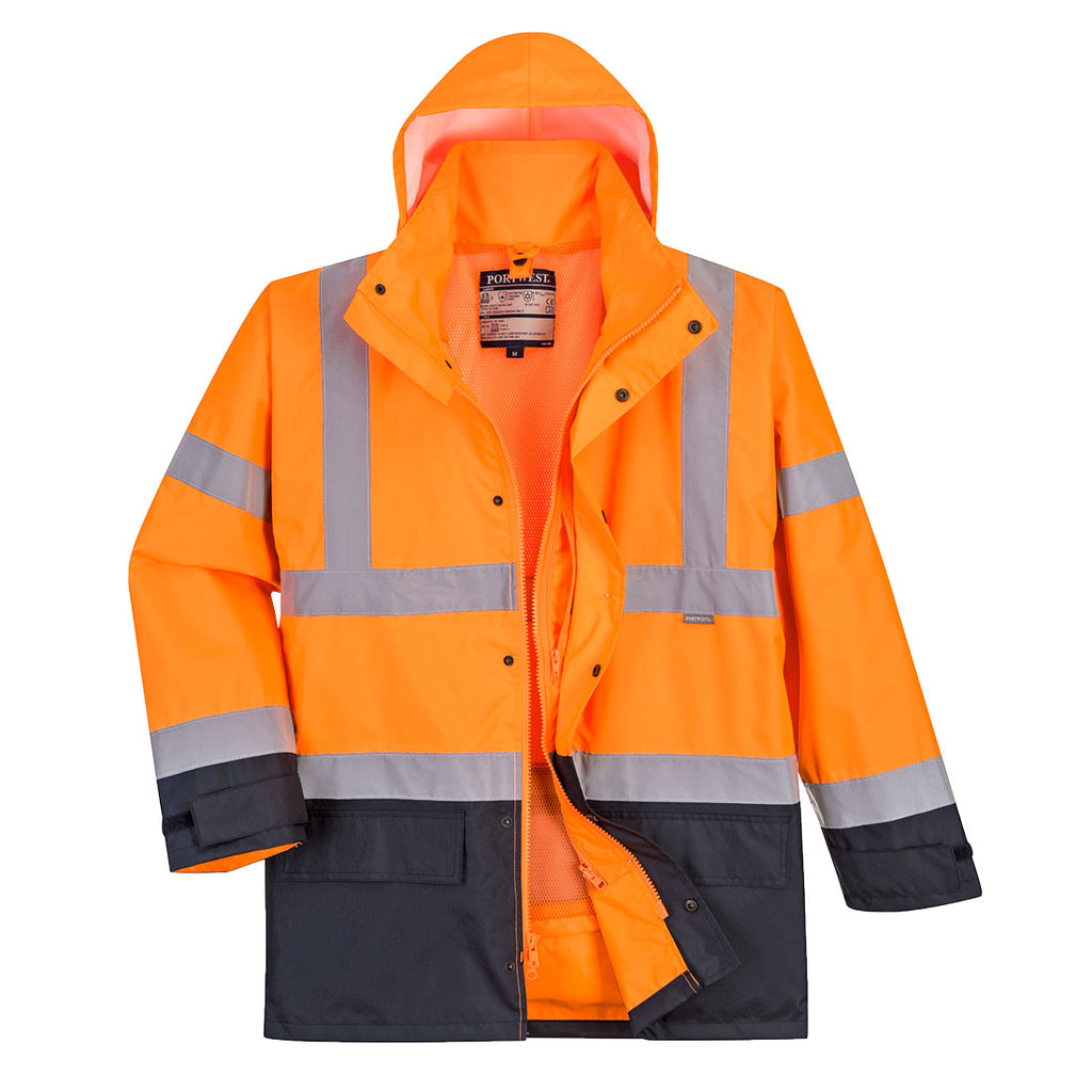 PORTWEST  Hi-Vis Executive 5-in-1 Jacket