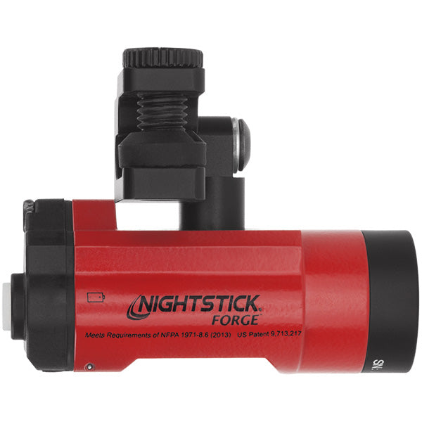 NIGHTSTICK XPP-5465R FORGE™ Intrinsically Safe Helmet-Mounted Multi-Function Flashlight