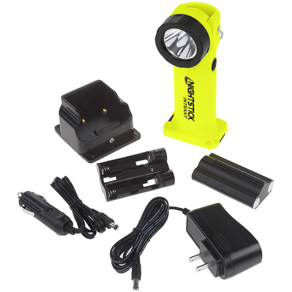 NIGHTSTICK XPR-5568 INTRANT® Intrinsically Safe Rechargeable Dual-Light™ Angle Light