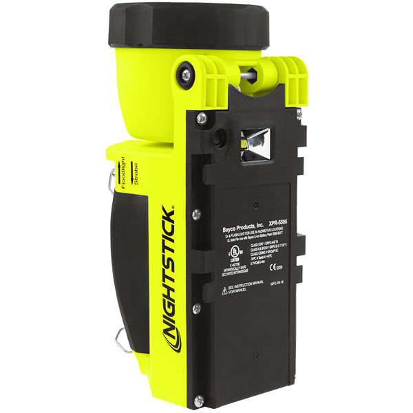 NIGHTSTICK XPR-5586GX Intrinsically-Safe Rechargeable Dual-Light™ Lantern w/Pivoting Head