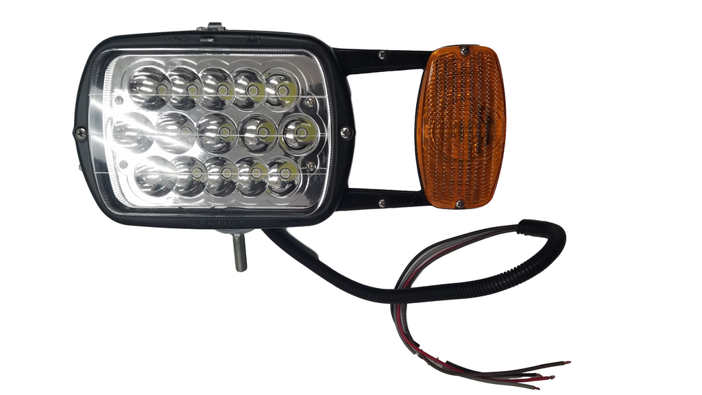 SNO-LASER  Snow Plow Lamp Kit, Includes Two Combination Lamps, Four 10 Ft. Color Coded Wires, Switch