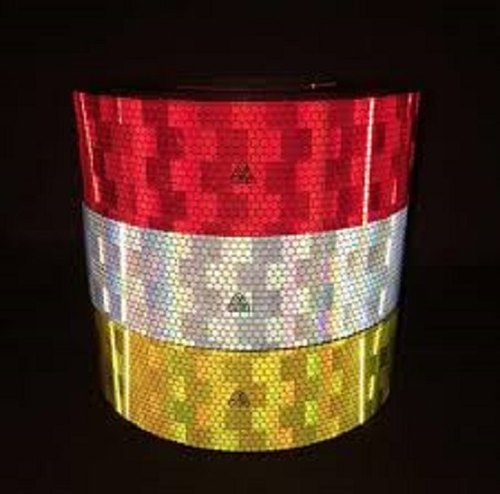 "Avery Conspicuity Reflective Tape 3"" x 150' YELLOW/AMBER"
