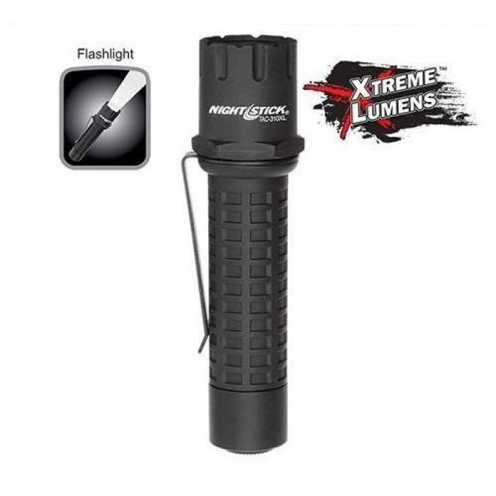 Bayco Nightstick Xtreme Lumens Polymer Tactical Flashlight - Non-Rechargeable - Public Safety