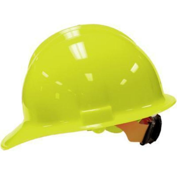 Bullard C30 Classic Series Hard Hats W/ Ratchet Suspension - Hi-Viz-Yellow - Highway Safety
