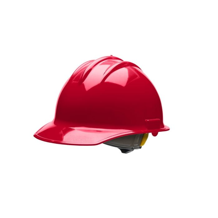 Bullard C30 Classic Series Hard Hats W/ Ratchet Suspension - Red - Highway Safety