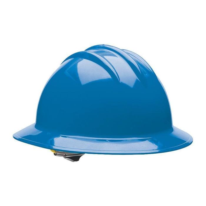 Bullard C33 Classic Full Brim Hard Hats W/ Ratchet Suspension - Kentucky Blue - Highway Safety
