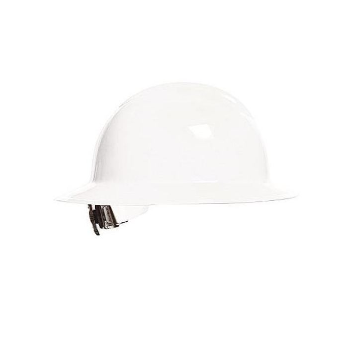 Bullard C33 Classic Full Brim Hard Hats W/ Ratchet Suspension - White - Highway Safety