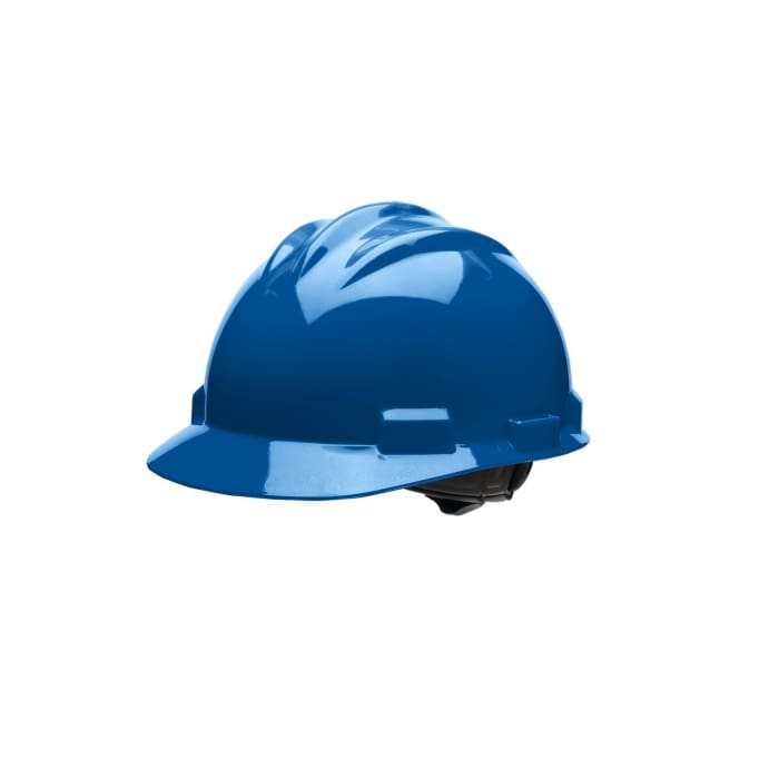 Bullard S61 Standard Series Hard Hats W/ Ratchet Suspension - Kentucky Blue - Highway Safety
