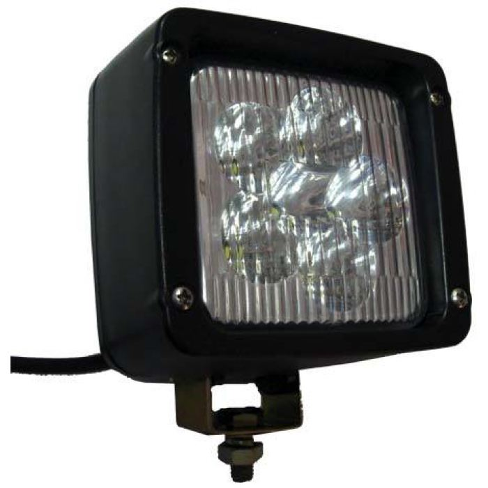 Compact Led Work Light Rectangular Wide Spot - Transportation Safety