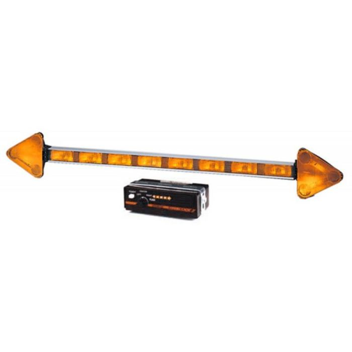 Double Arrow Stick Traffic Director - Amber - Transportation Safety