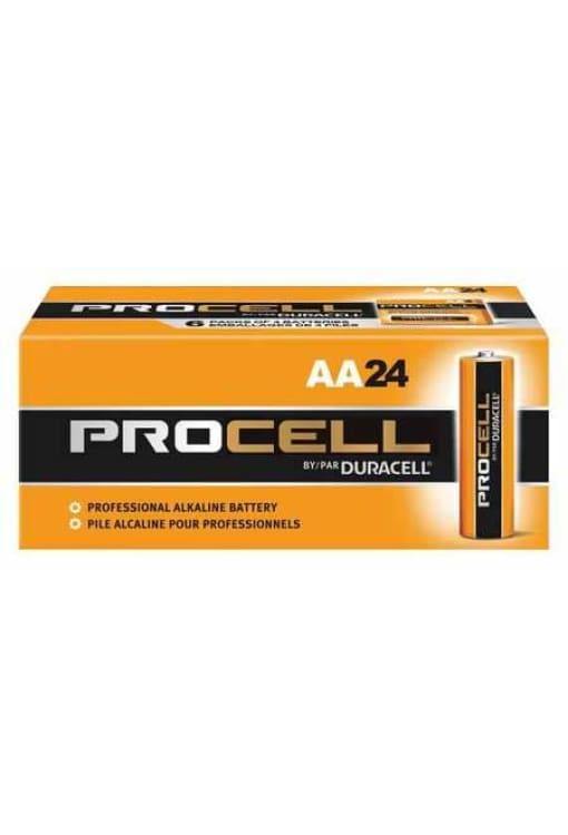Duracell Procell 40Amp Aa Alkaline Battery - 24Pk - Public Safety