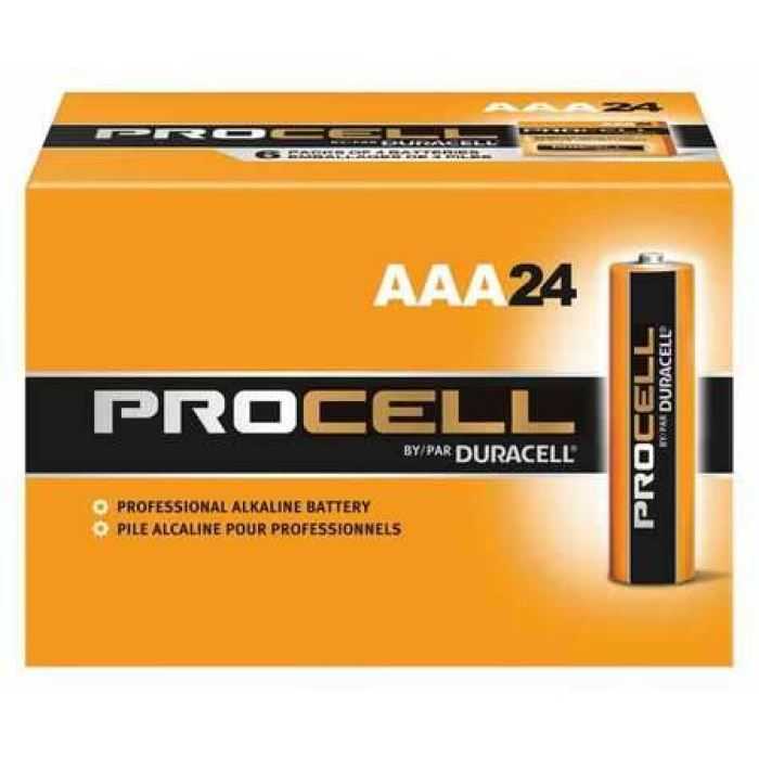 Duracell Procell Aaa Alkaline Battery - 24Pk - Public Safety
