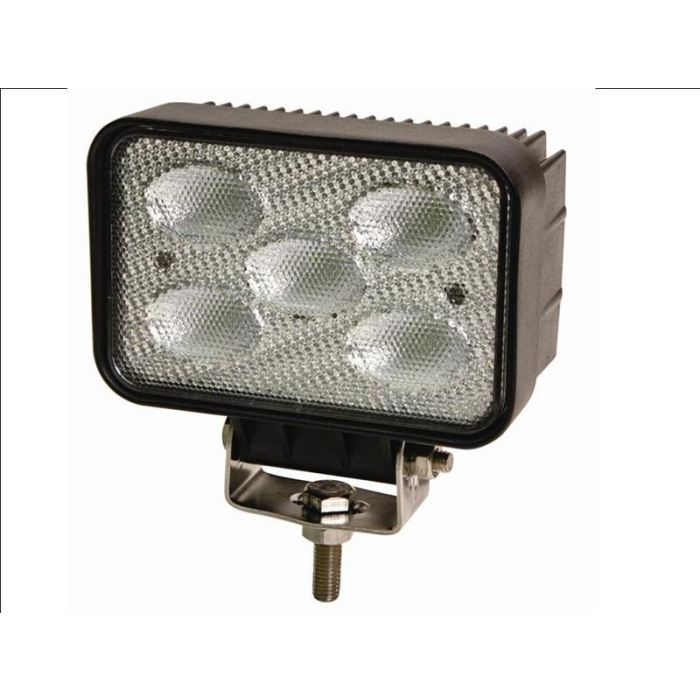 Ecco Led Work Light: Flood: Rectangle 10-30Vdc Five 10Watt Leds - Transportation Safety