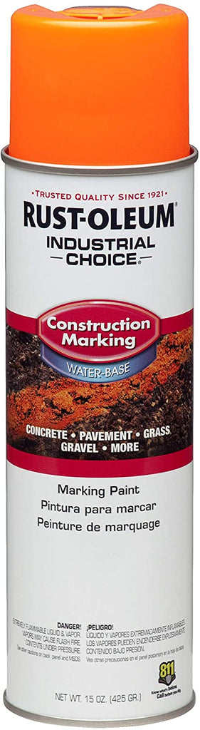 RUST-OLEUM M1400 SYSTEM WATER-BASED FLUOR Construction Marking Paint  (12PK)