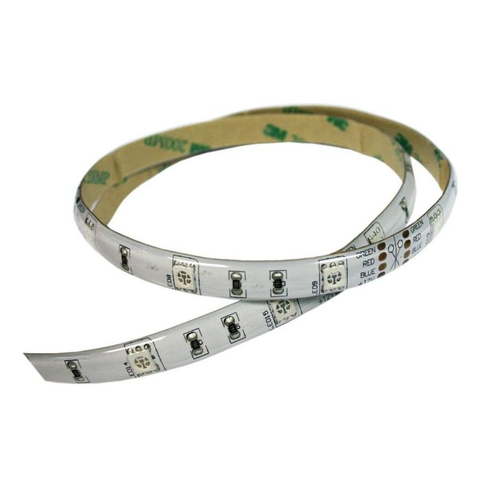 Flexible Led Strip: Self-Adhesive: Size Cut To Your Specs: Water Resistant - Transportation Safety