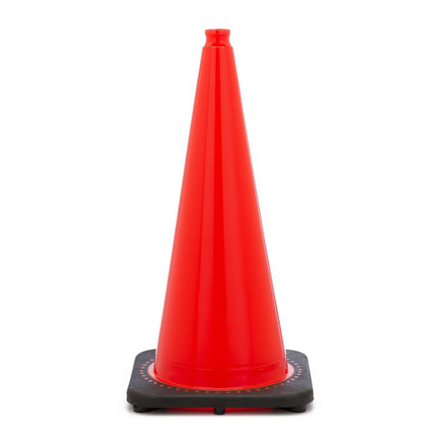 Jbc Revolution Plain Orange 28 Traffic Cone - Highway Safety
