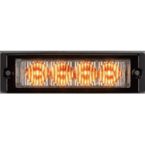 Led Auxiliary/warning Light - Single Quad Lighthead - 22 Patterns - One & Two-Color Combinations - Transportation Safety