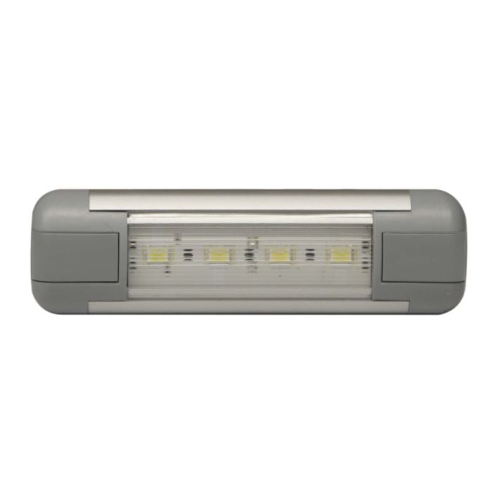 Led Interior Rectangular - 4.5 / Clear - Transportation Safety