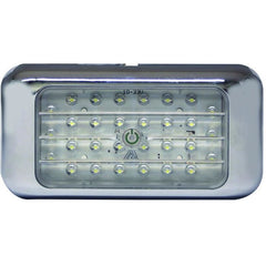 Led Interior Rectangular Switched - Chrome - Transportation Safety