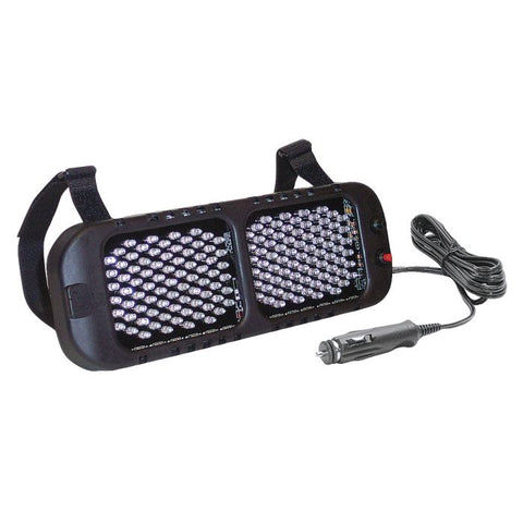 Led Visor Warning Light - 30 Flash Patterns - Multiple Color Combinations Available - Transportation Safety