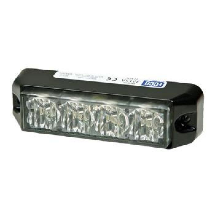 Led Warning Light - Surface Mount - Multiple Patterns - Choose From 3 Colors - Transportation Safety