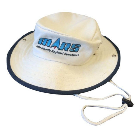 Mars/va Port Authority® Outback Hat - Navy/canvas - Embroidered - Mars Logo Wear