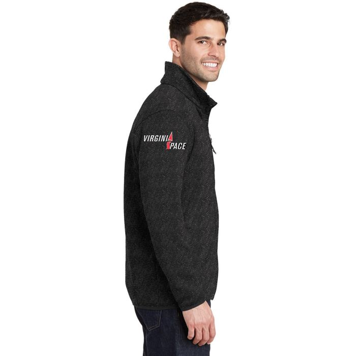 Mars/va Port Authority® Sweater Fleece Jacket Embroidered - Mars Logo Wear
