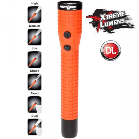 NIGHTSTICK NSR-9920XL Polymer Duty/Personal-Size Dual-Light™ Rechargeable Flashlight w/Magnet