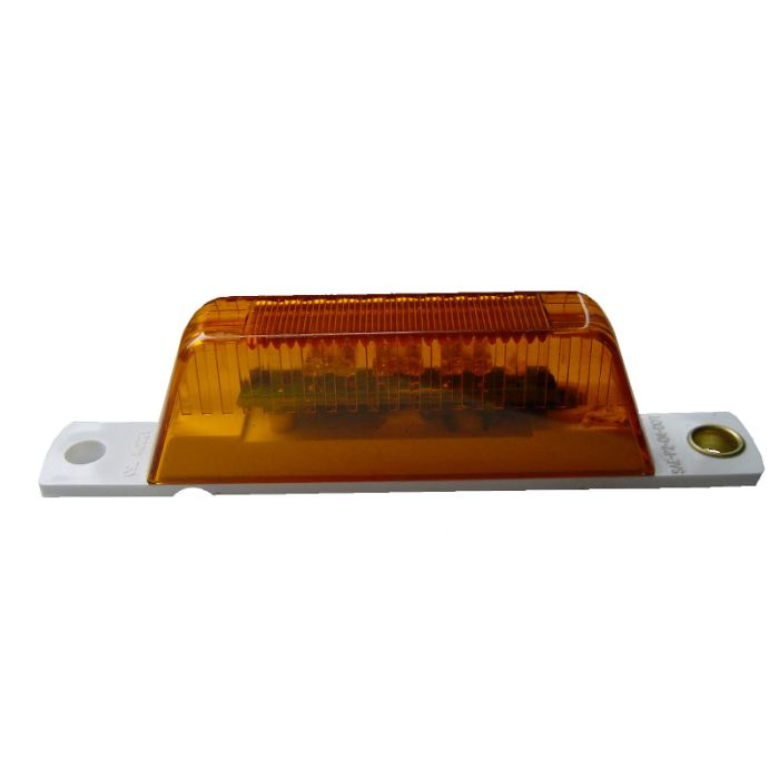 Pc-Rated Thinline Led Marker Light W/o Pigtail- Amber Or Red - Transportation Safety