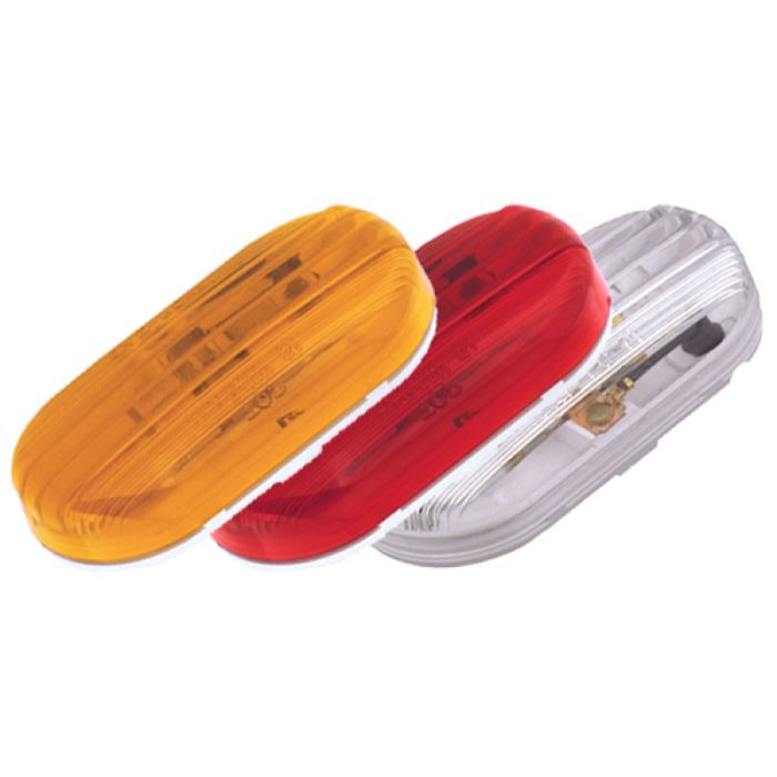 Plastic Marker Light - 2 Bulbs - More Colors - Transportation Safety