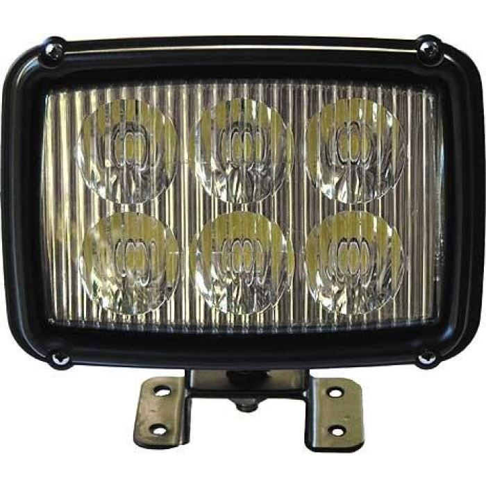 Rectangular Led Flood Work Light - Transportation Safety