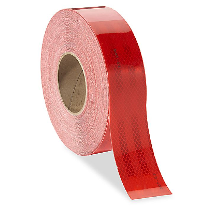 Red Conspicuity Tape 150 X 2 12-Year Warranty - Highway Safety