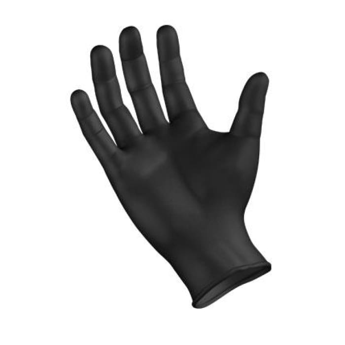 Sempermed Semperforce® Nitrile Gloves - Black - Public Safety