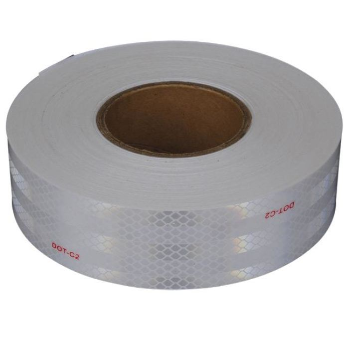 Silver Conspicuity Tape 150 X 2 7-Year Warranty - Transportation Safety