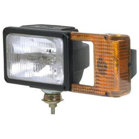 "SNO-LASER 2 Snowplow Headlamp/Turn Signal - 4-Pin ""Fisher-Style"" Connector - Polycarbonate Housing"