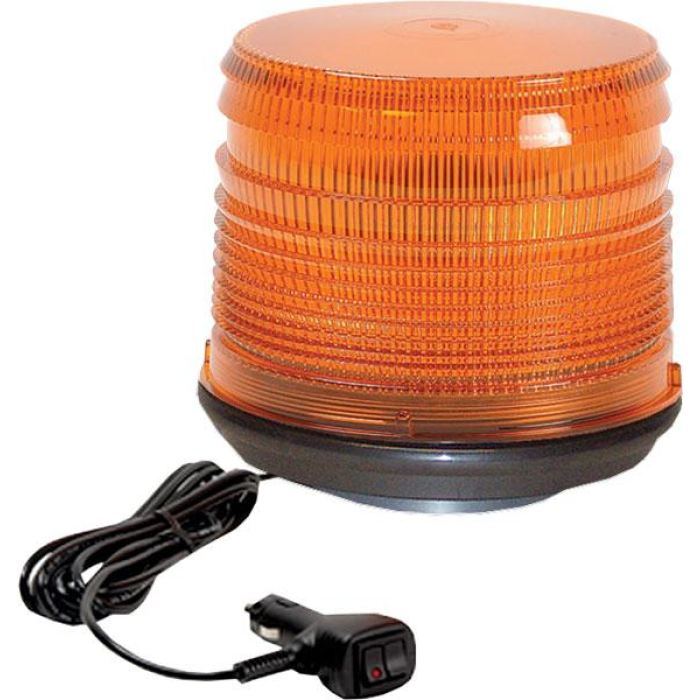 Star Halo® Led Beacons - Short Lens W/vacuum Mount - Transportation Safety