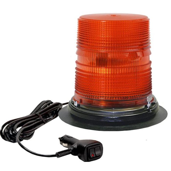 Star Halo® Led Beacons - Tall Lens W/vacuum Mount - Transportation Safety