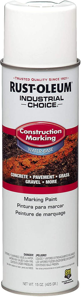 RUST-OLEUM M1400 SYSTEM WATER-BASED Construction Marking Paint  (12PK)