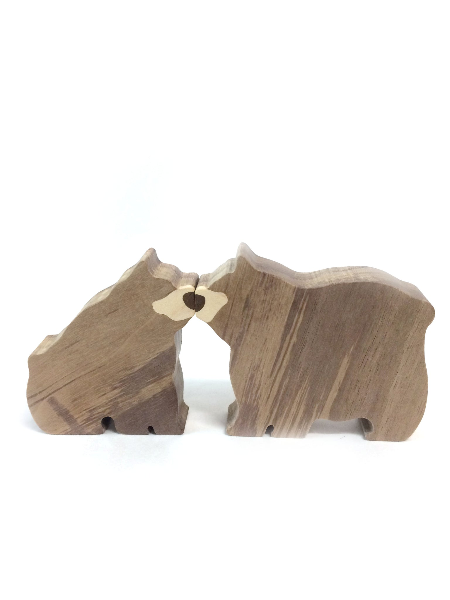 Wooden Bears - magnetic