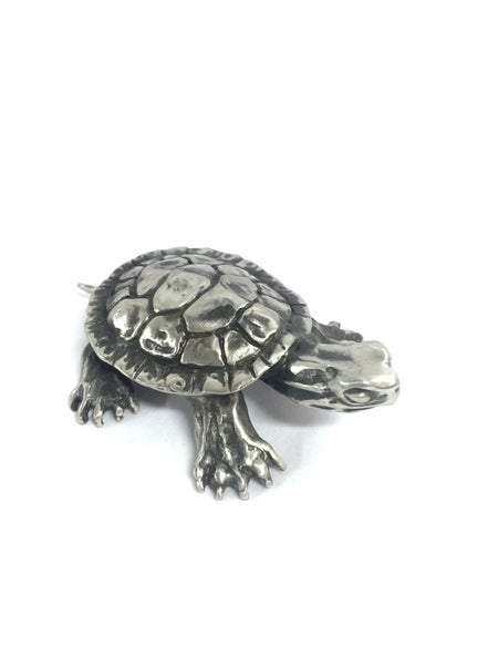 Pewter Turtle