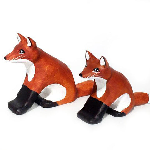 Wooden Toys - Foxes