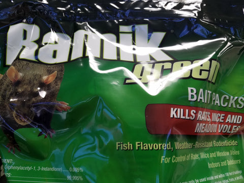 Ramik® Green Bait Packs - 16 ct.