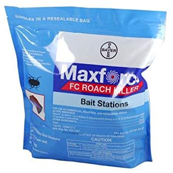 Maxforce FC Small Roach Bait Stations, Pouch