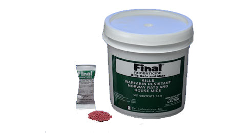 Final Rodenticide Pellet Place Packs (291)