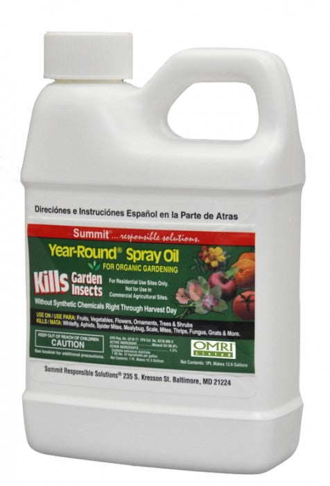 Year-Round Pesticide Oil Spray